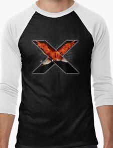 X Men - Jean - White Men's Baseball ¾ T-Shirt