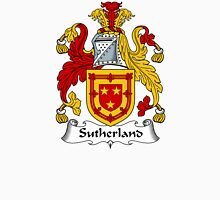 Sutherland Coat of Arms / Sutherland Family Crest Unisex T-Shirt