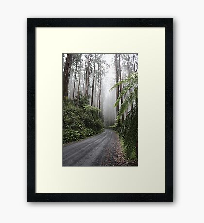 Over the top of Acheron Way Framed Print