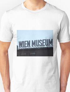 Wien Museum, Vienna Austria Unisex T-Shirt