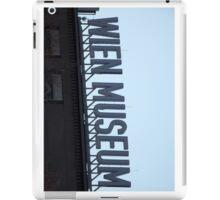 Wien Museum, Vienna Austria iPad Case/Skin