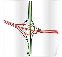 i70 - i25 interchange Poster