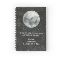 Moon Spiral Notebook