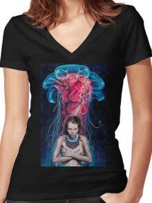Metamorphosis Women's Fitted V-Neck T-Shirt