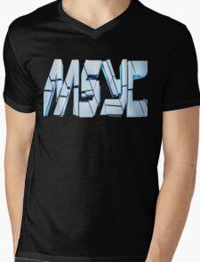 MYSC !!! Mens V-Neck T-Shirt