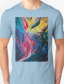 Bird Flower Unisex T-Shirt