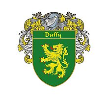 Duffy Coat of Arms/Family Crest Photographic Print