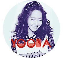 Girls' Generation Yoona Love & Peace Photographic Print
