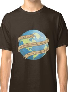 APATHETIC BLOODY PLANET Classic T-Shirt