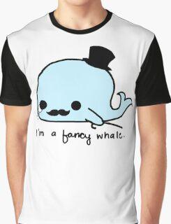 I'm a fancy whale Graphic T-Shirt
