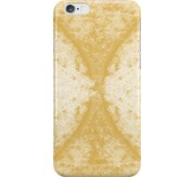 Step Crack Meeting Design (Spicy Mustard Color) iPhone Case/Skin