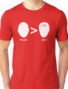 Picard > Kirk Unisex T-Shirt
