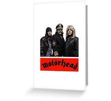 MOTORHEAD Greeting Card