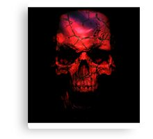 Red Skull - Gears of War 4 Canvas Print