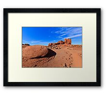 Wupatki Pueblo Ruins Framed Print
