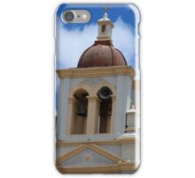 Bell Tower on San Roque Church iPhone Case/Skin