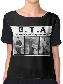 GTA (NWA) Straight Outta Compton Chiffon Top