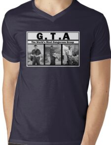 GTA (NWA) Straight Outta Compton Mens V-Neck T-Shirt