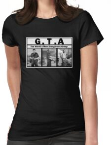 GTA (NWA) Straight Outta Compton Womens Fitted T-Shirt