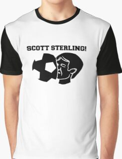 Scott Sterling! (black) Graphic T-Shirt