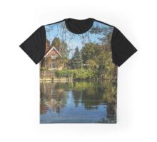 A Backwater At Goring on Thames Graphic T-Shirt