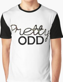 'Pretty Odd' Typography Illustration Graphic T-Shirt