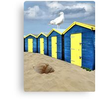 The Great British Seaside Canvas Print