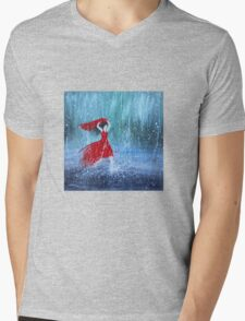 Being a Woman 7 - In the Rain Mens V-Neck T-Shirt