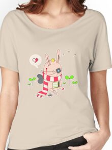Bunny boy Women's Relaxed Fit T-Shirt