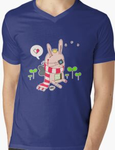 Bunny boy Mens V-Neck T-Shirt