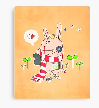 Bunny boy Canvas Print