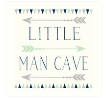 Little Man Cave Art Print