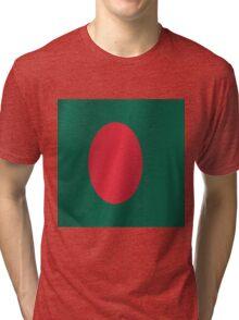 Bangladesh flag Tri-blend T-Shirt