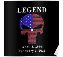 RIP Chris Kyle Memorial, the Legend Poster