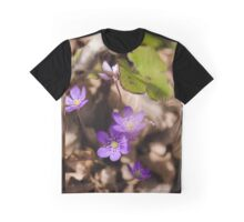 Anemone hepatica Graphic T-Shirt