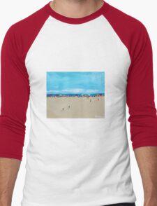Summertime Men's Baseball ¾ T-Shirt