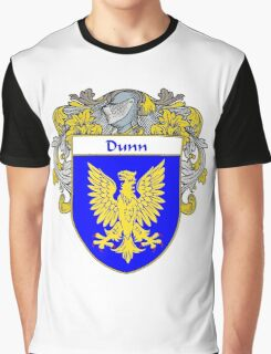 Dunn Coat of Arms/Family Crest Graphic T-Shirt