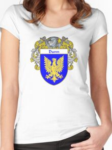 Dunn Coat of Arms/Family Crest Women's Fitted Scoop T-Shirt