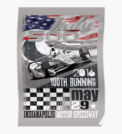 indy 500 Poster