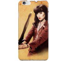 Xena scrolls iPhone Case/Skin