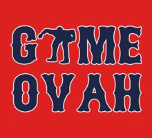GAME OVAH RED One Piece - Short Sleeve