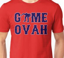 GAME OVAH RED Unisex T-Shirt