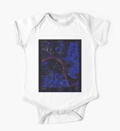 USGS TOPO Map Alabama AL Farley 303817 1950 24000 Inverted One Piece - Short Sleeve
