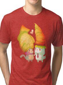 Taiyaki and carrots Tri-blend T-Shirt