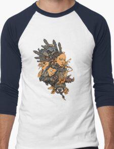 Space Girl Men's Baseball ¾ T-Shirt