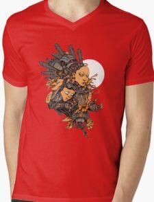 Space Girl Mens V-Neck T-Shirt