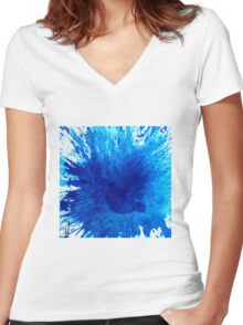 Bird Bath 3 Women's Fitted V-Neck T-Shirt
