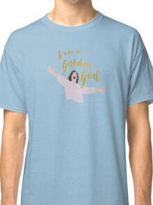 Golden God in White Classic T-Shirt