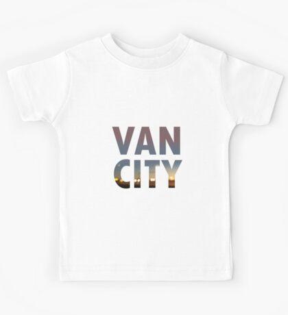 VanCity image within text Kids Tee