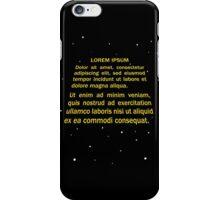 Lorem ipsum iPhone Case/Skin